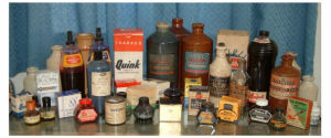 Ink bottle collection